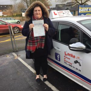 Congratulations to Gemma Gardener of Torquay on passing her DrivingTest 1st time today at Newton Abbot