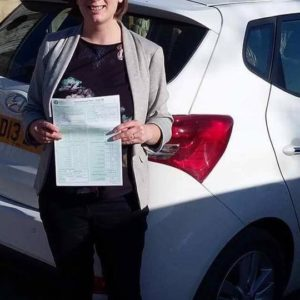 Congratulations to Kate Monk on Passing her final Instructors Part 3 test