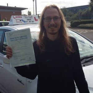 Huge congratulations to Simon Horsely for a well deserved pass