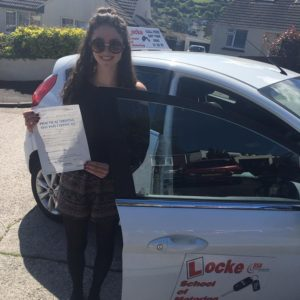 Well done Eve Harris for passing your test yesterday with only four minors! Well deserved