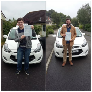 congratulations to Sam & James for passing their tests.